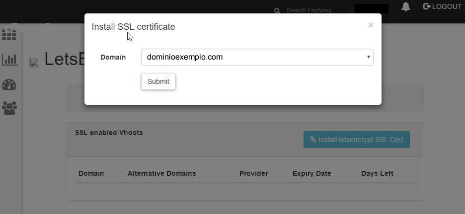Instalando certificado ssl grátis no cpanel